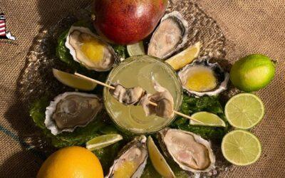 Mango Oyster Sour: il delizioso abbinamento tra cocktail e ostrica Deesse Blanche