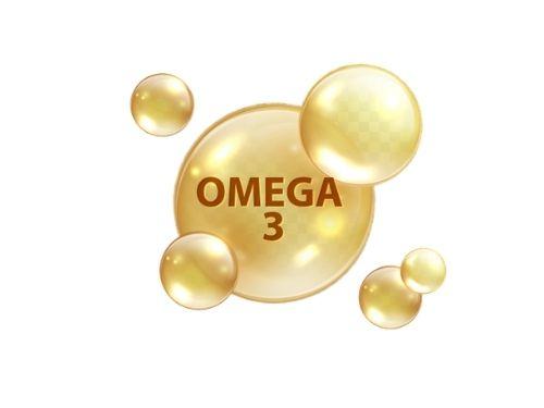 Molecole di omega 3 stilizzate